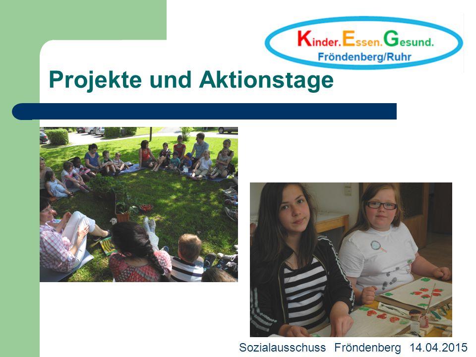 Projekte und Aktionstage