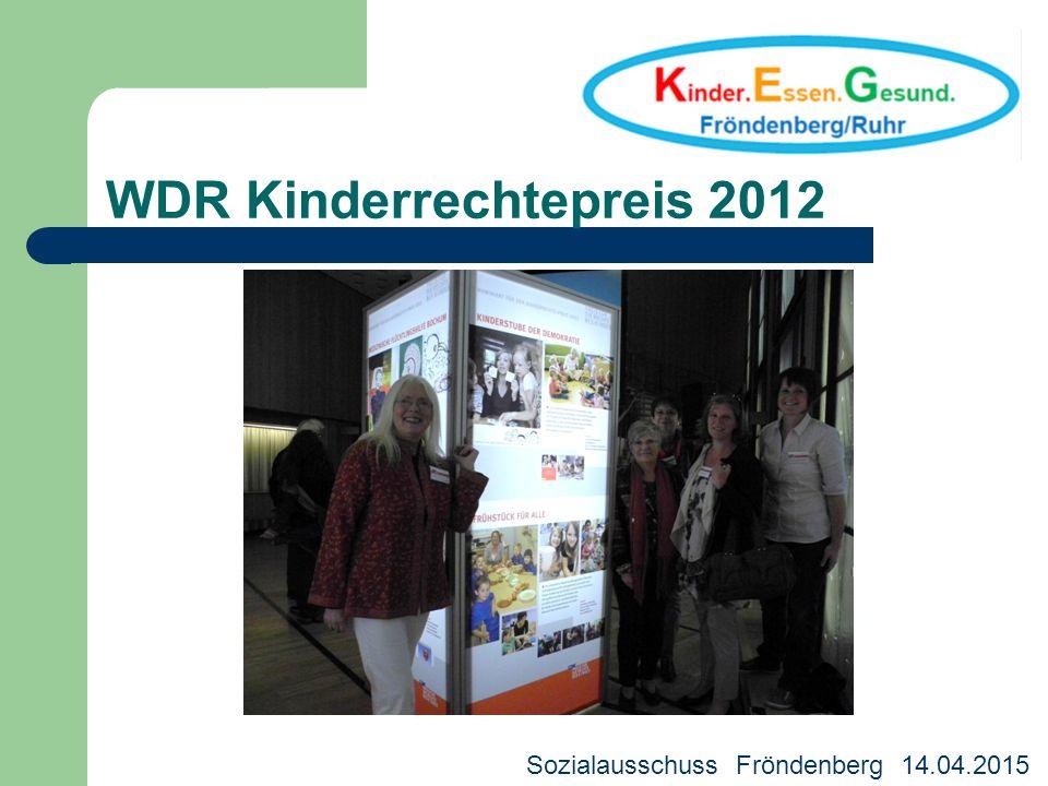 WDR Kinderrechtepreis 2012