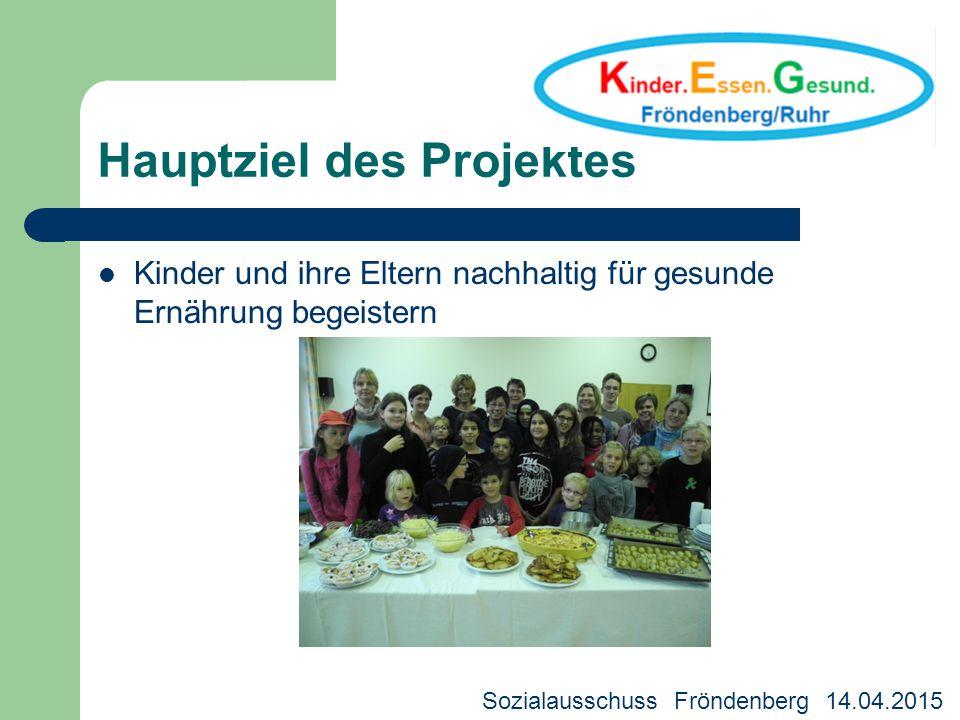 Hauptziel des Projektes