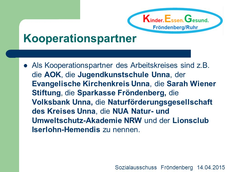 Kooperationspartner