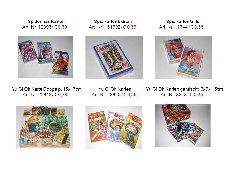 Spiderman Karten Spielkarten 6x9cm Spielkarten Girls