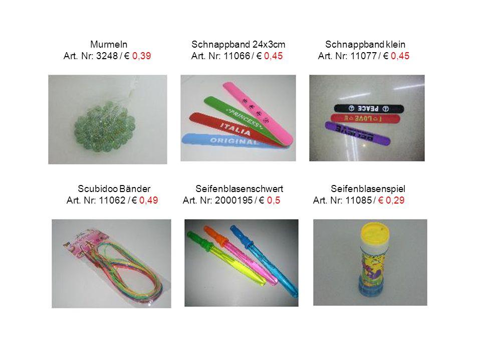 Murmeln Schnappband 24x3cm Schnappband klein