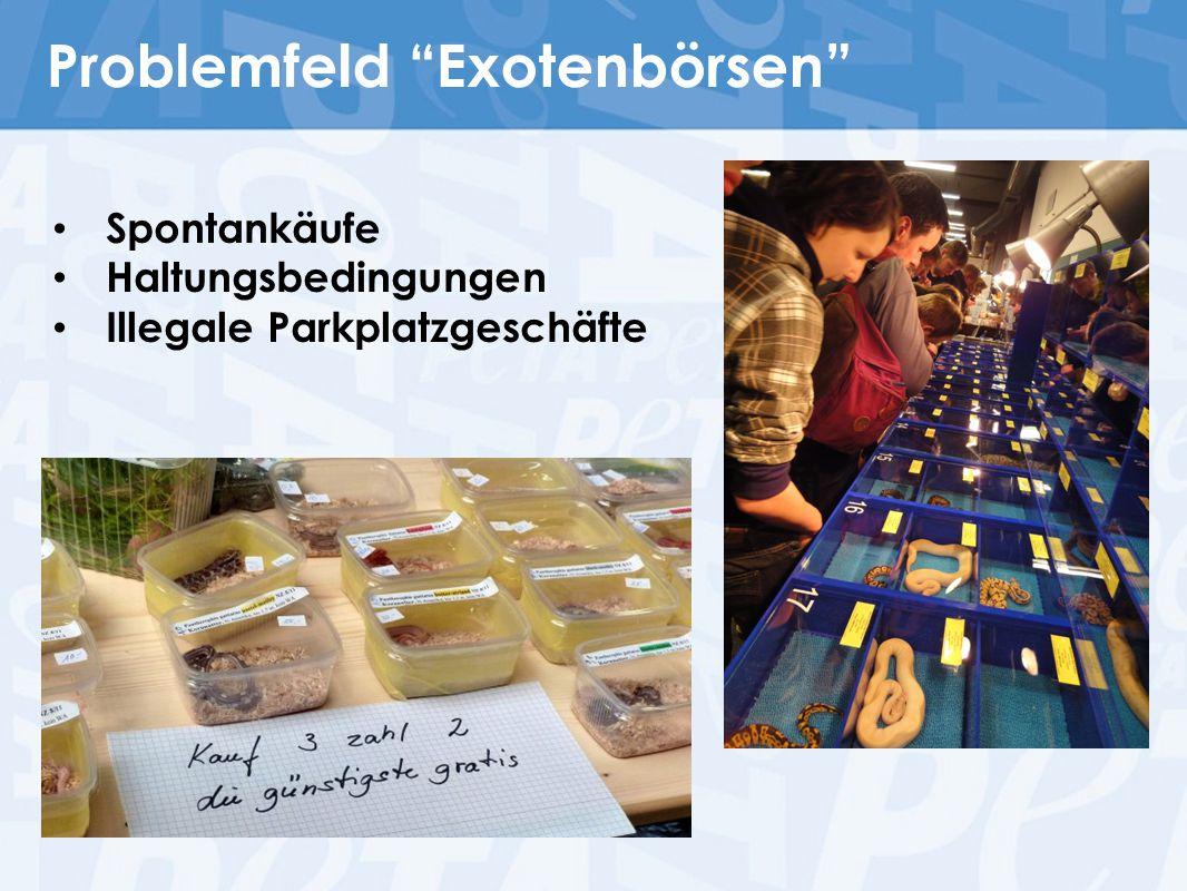 Problemfeld Exotenbörsen
