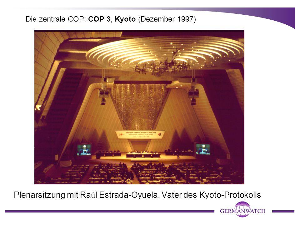 Die zentrale COP: COP 3, Kyoto (Dezember 1997)