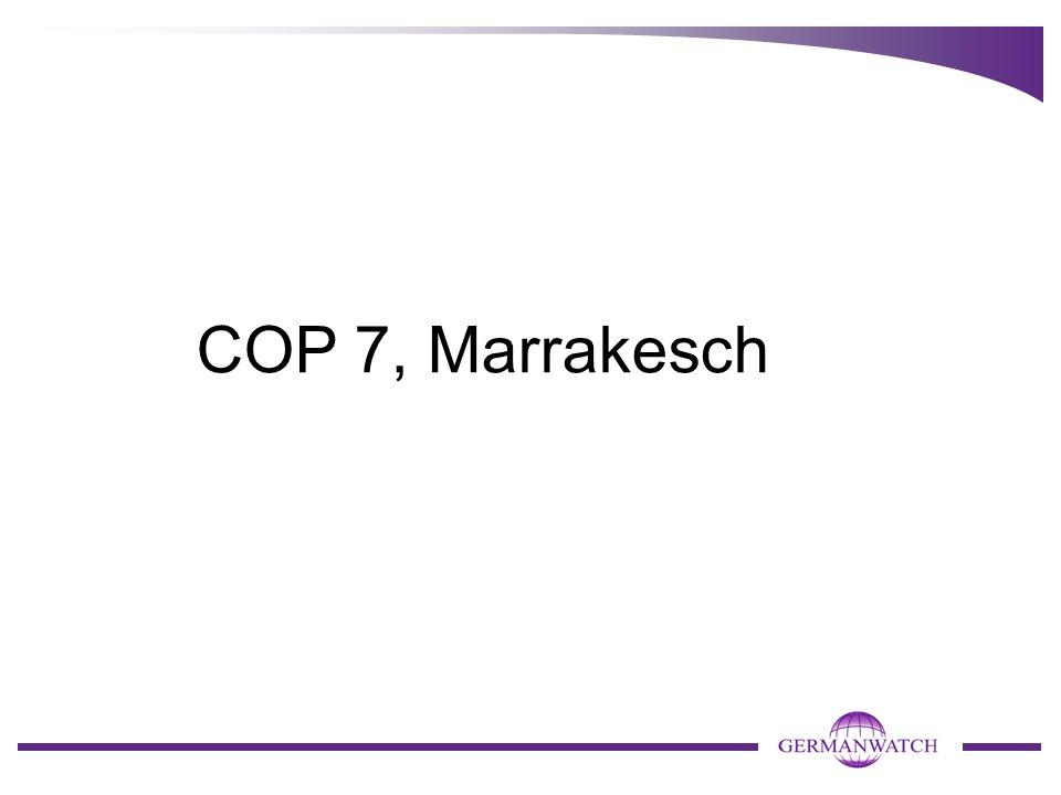 COP 7, Marrakesch