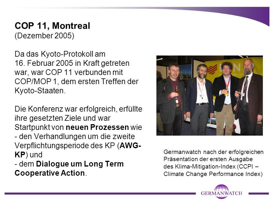 COP 11, Montreal (Dezember 2005)