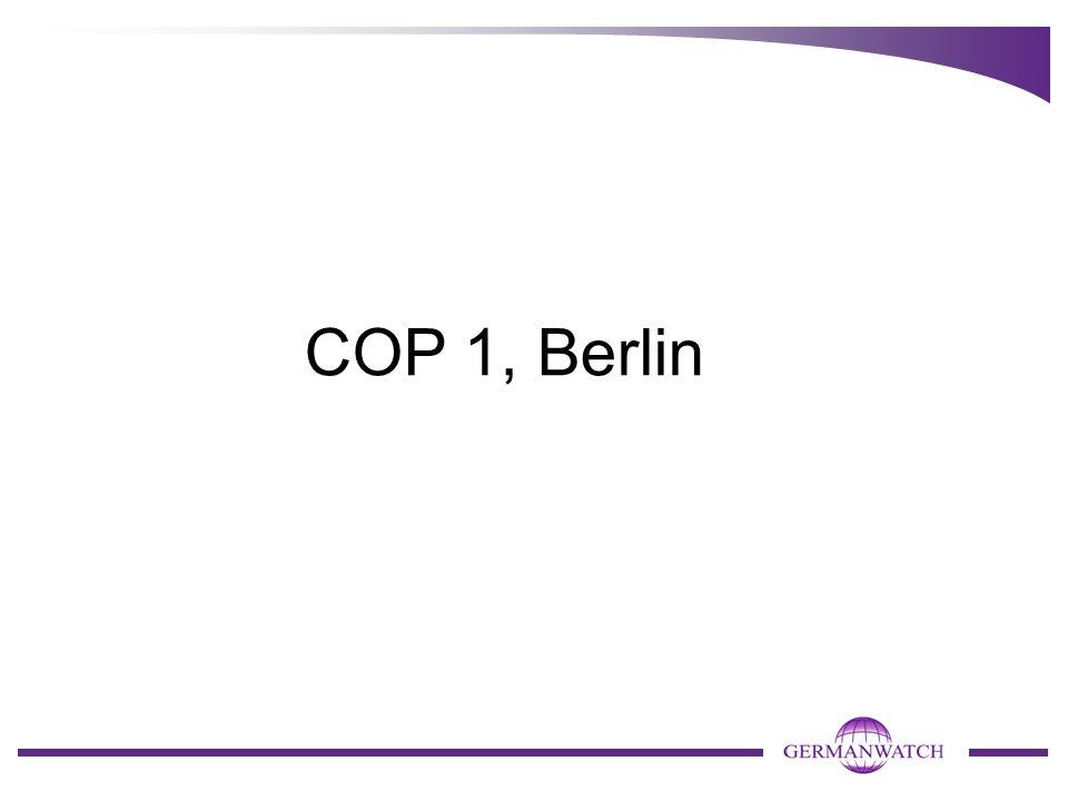 COP 1, Berlin