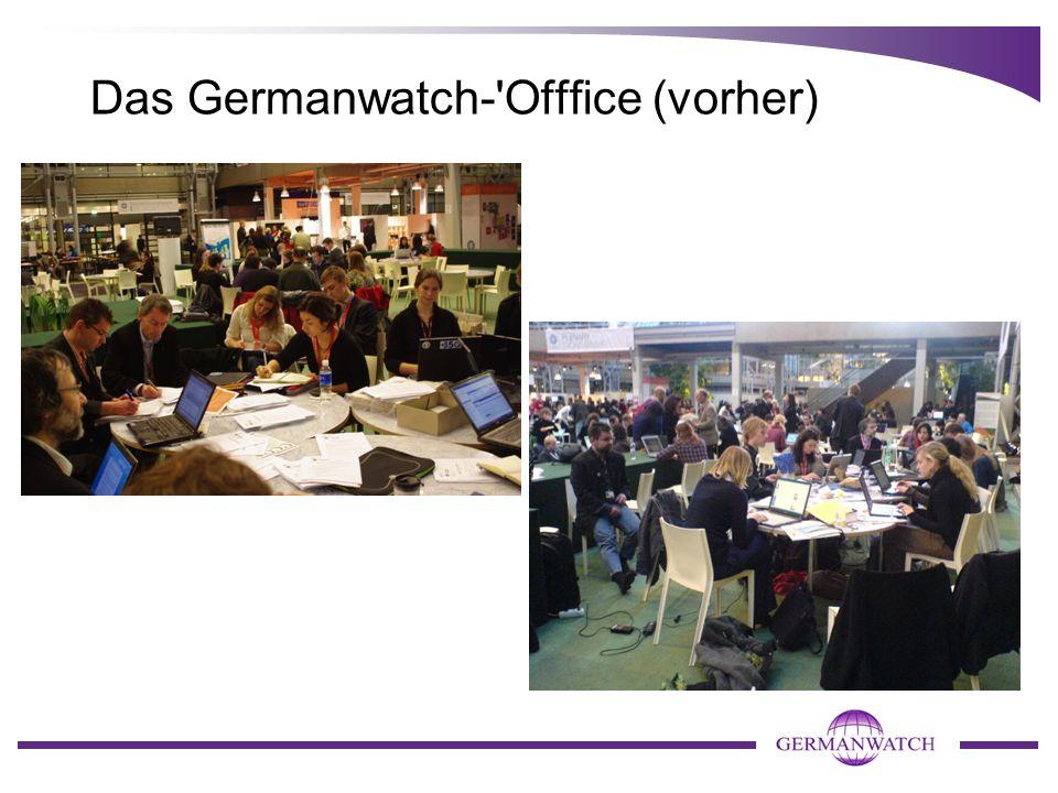 Das Germanwatch- Offfice (vorher)