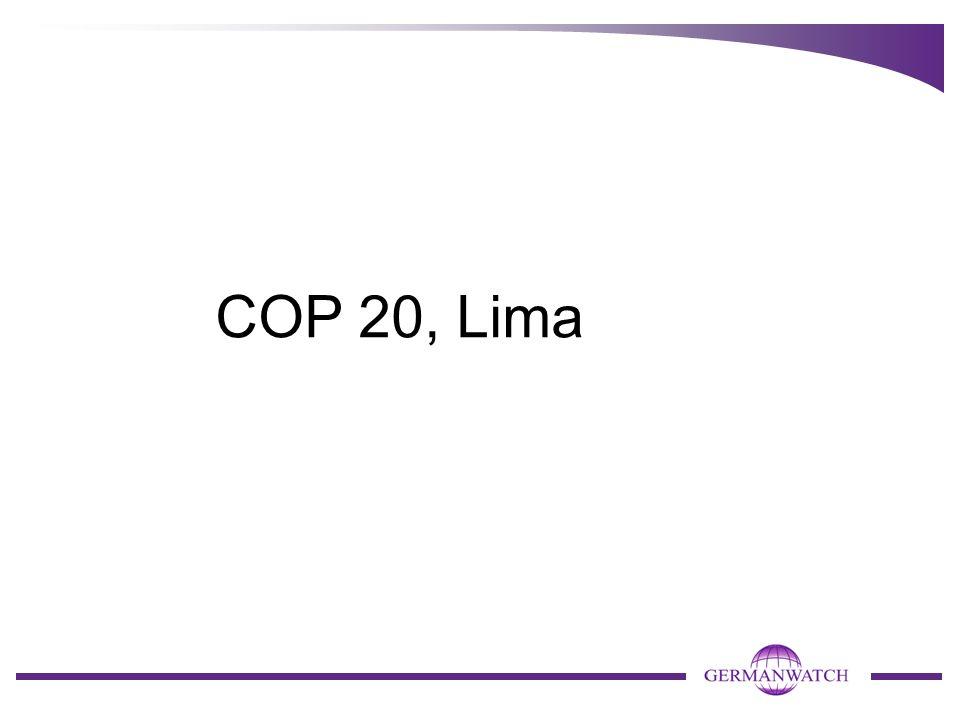 COP 20, Lima