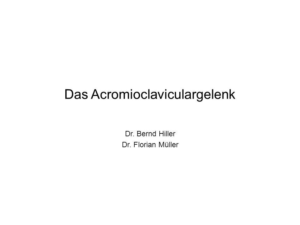 Das Acromioclaviculargelenk