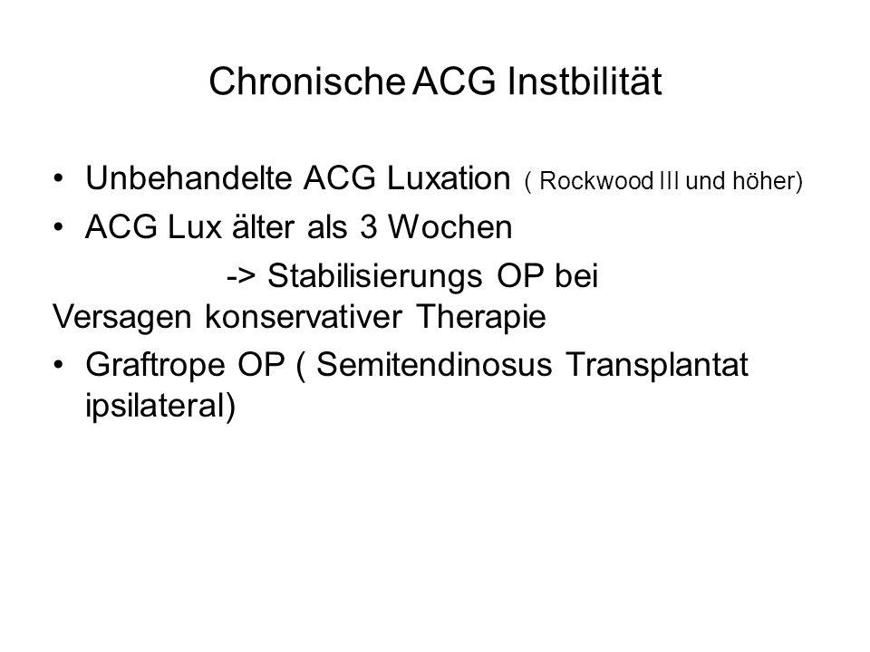Chronische ACG Instbilität
