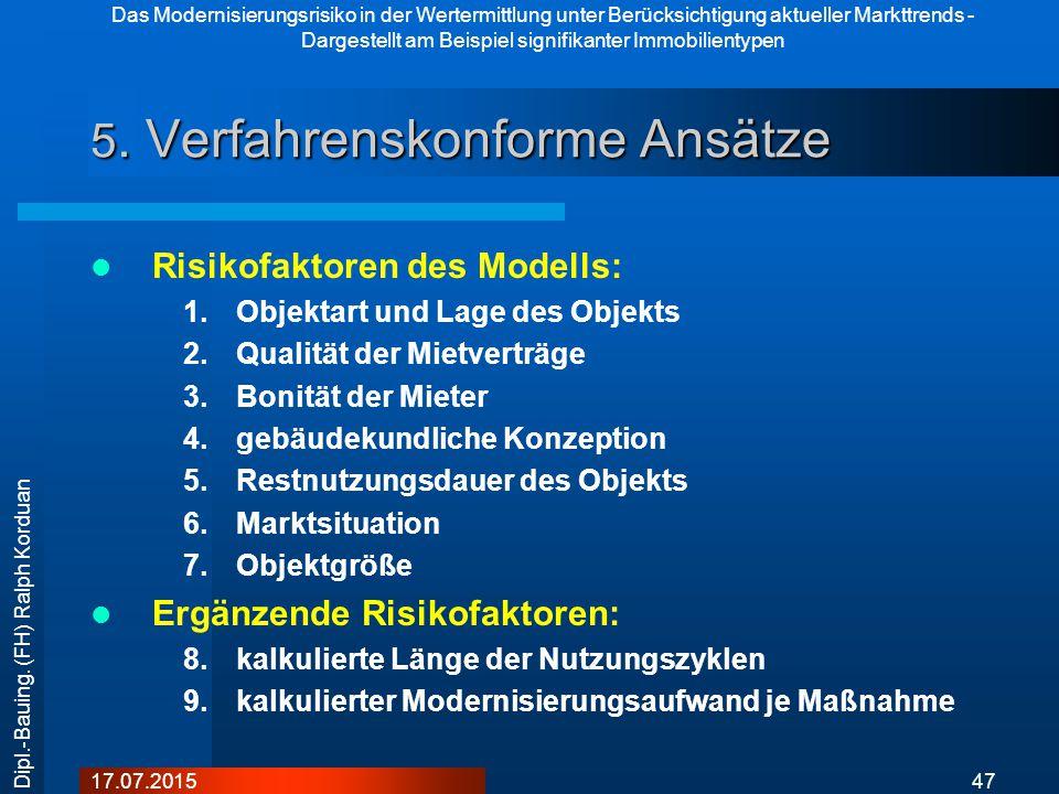 5. Verfahrenskonforme Ansätze
