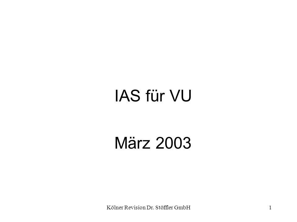 Kölner Revision Dr. Stöffler GmbH