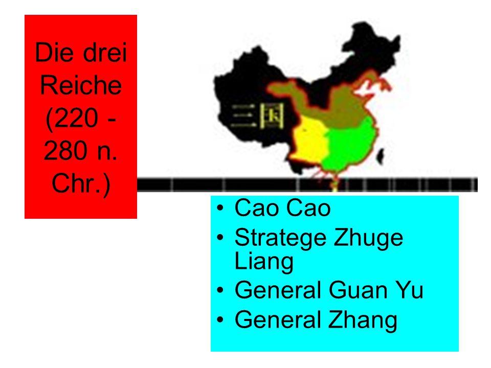 Die drei Reiche (220 - 280 n. Chr.)