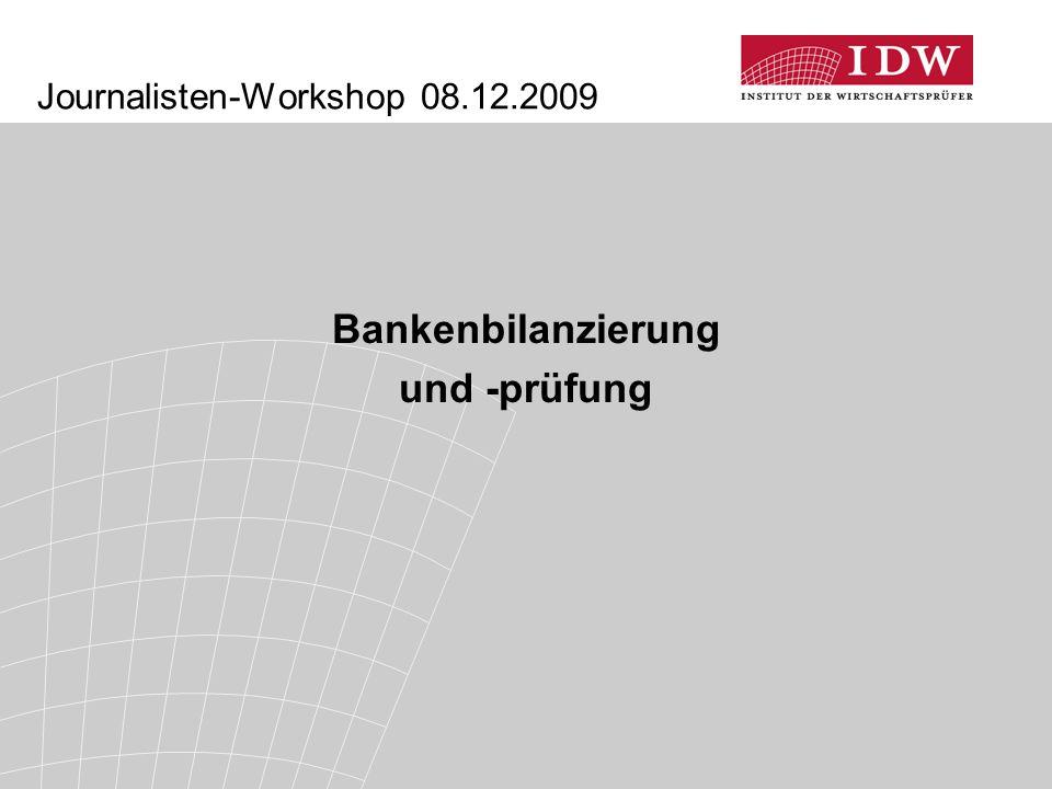 Journalisten-Workshop 08.12.2009