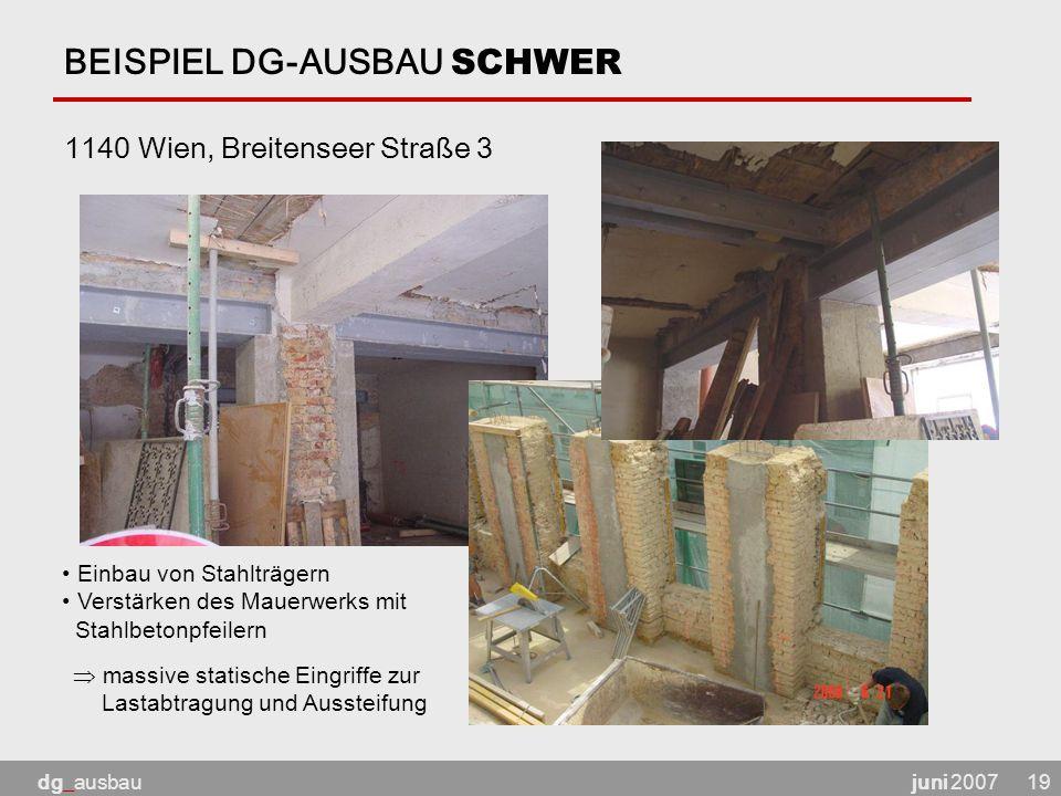 BEISPIEL DG-AUSBAU SCHWER