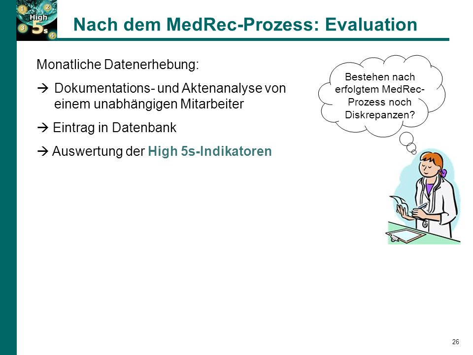 Nach dem MedRec-Prozess: Evaluation