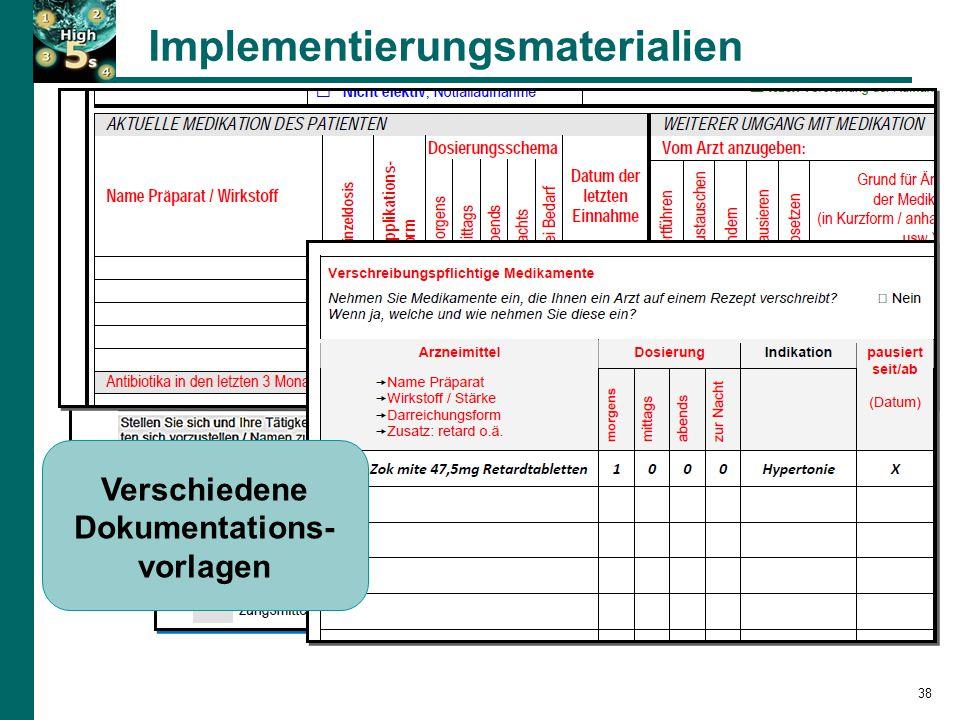 Implementierungsmaterialien