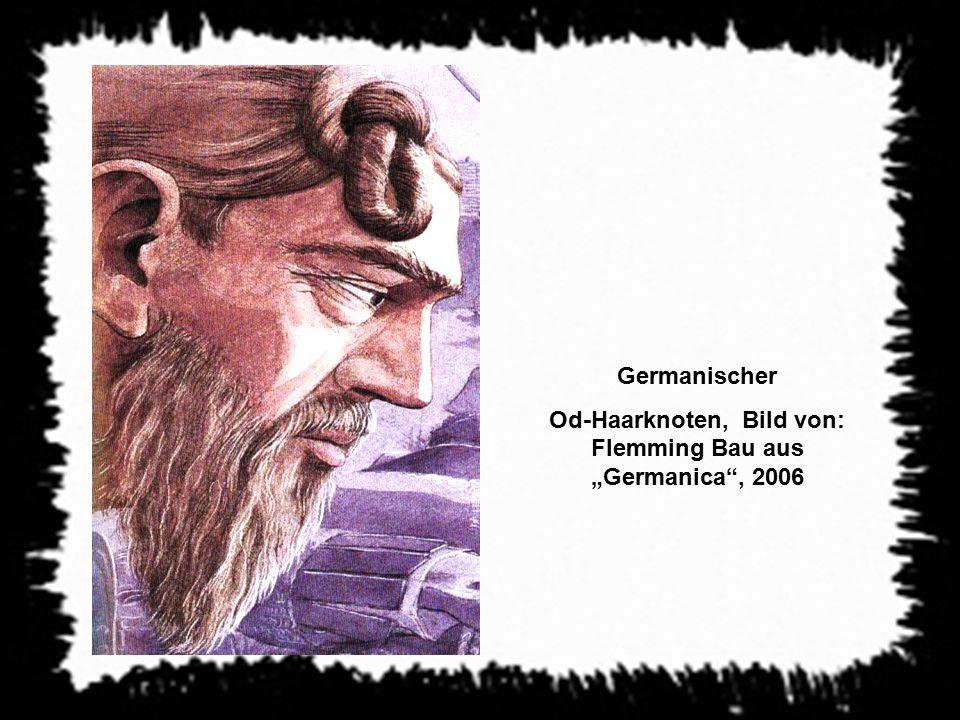 """Od-Haarknoten, Bild von: Flemming Bau aus """"Germanica , 2006"""