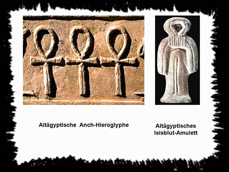 Altägyptische Anch-Hieroglyphe Altägyptisches Isisblut-Amulett