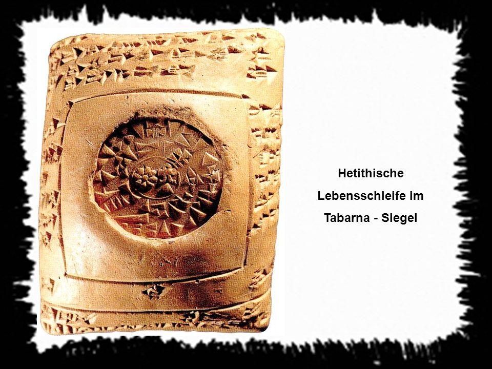 Hetithische Lebensschleife im Tabarna - Siegel