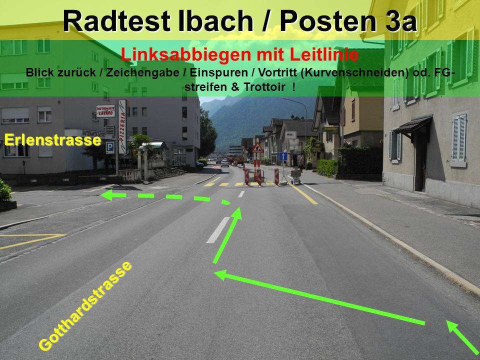 Radtest Ibach / Posten 3a