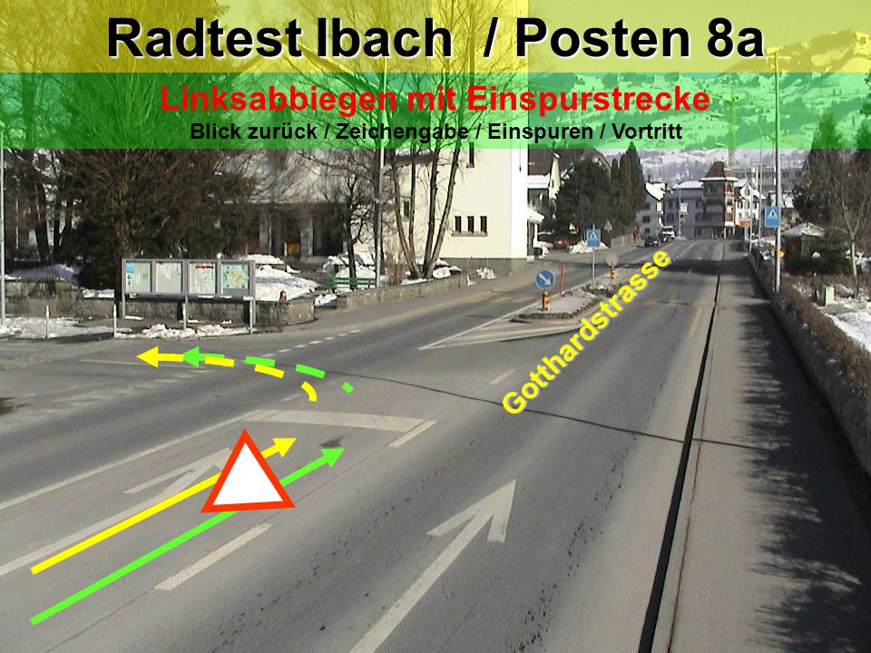 Radtest Ibach / Posten 8a