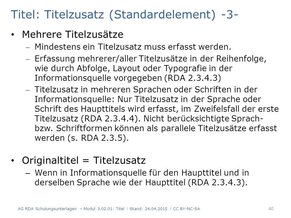 Titel: Titelzusatz (Standardelement) -3-
