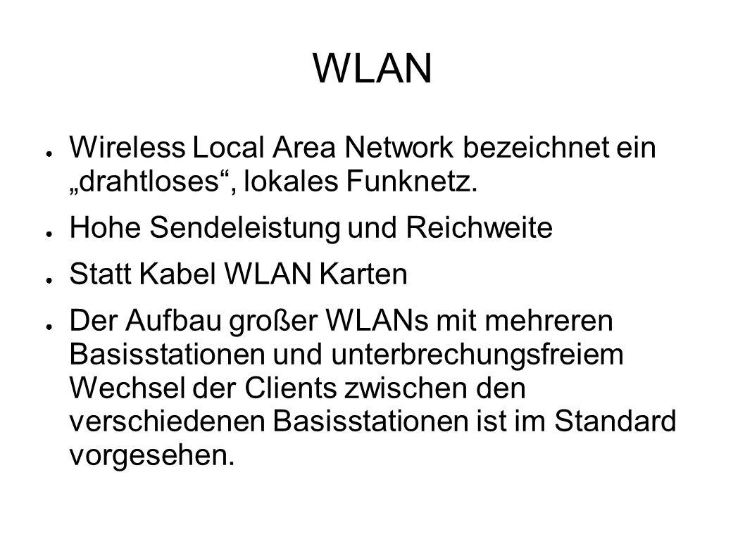 """WLAN Wireless Local Area Network bezeichnet ein """"drahtloses , lokales Funknetz. Hohe Sendeleistung und Reichweite."""