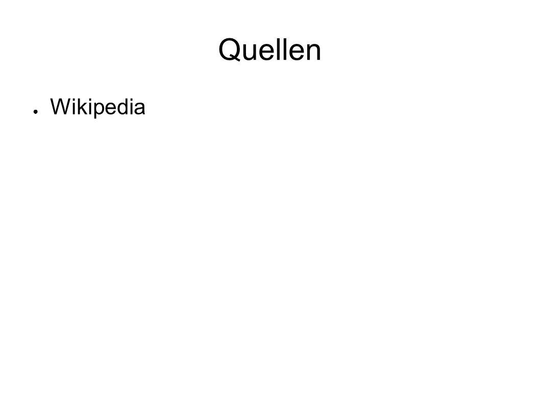 Quellen Wikipedia