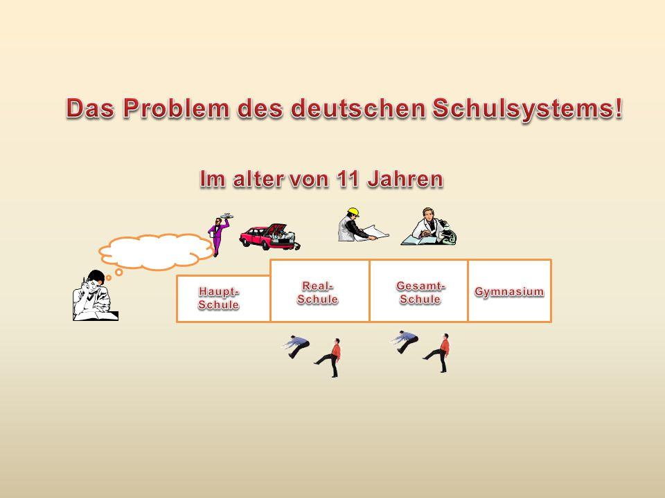 Das Problem des deutschen Schulsystems!
