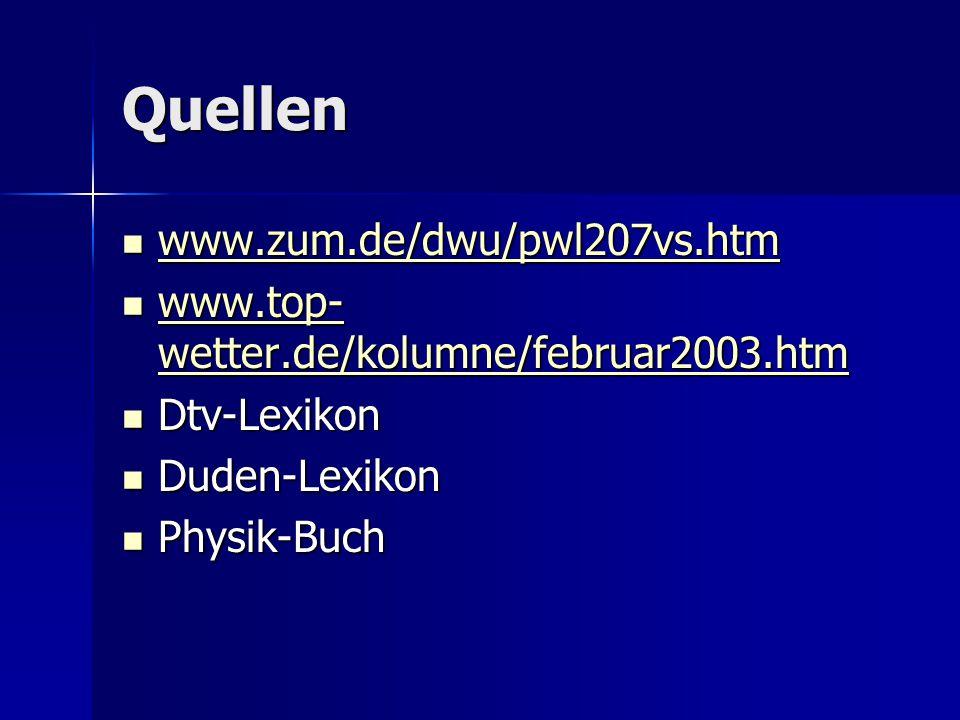 Quellen www.zum.de/dwu/pwl207vs.htm