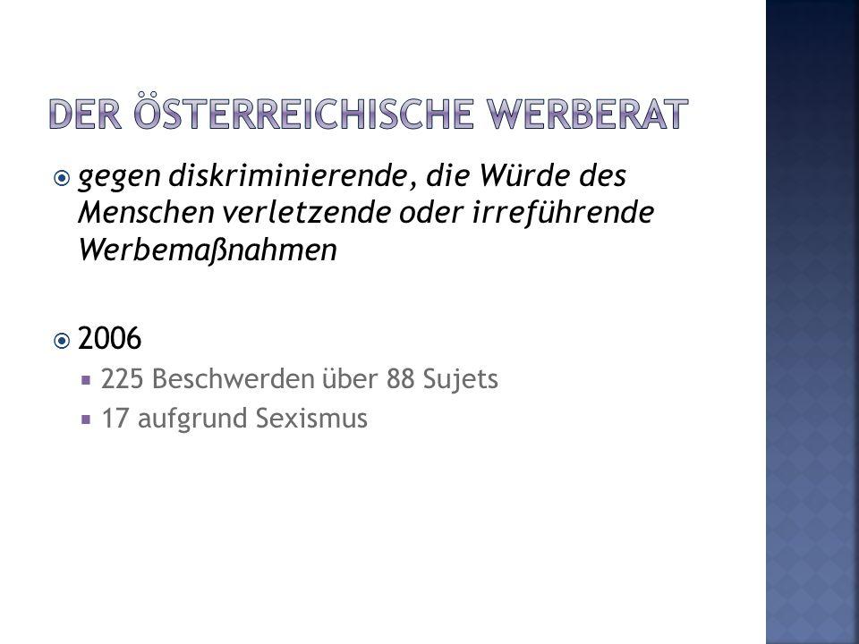 Der österreichische Werberat