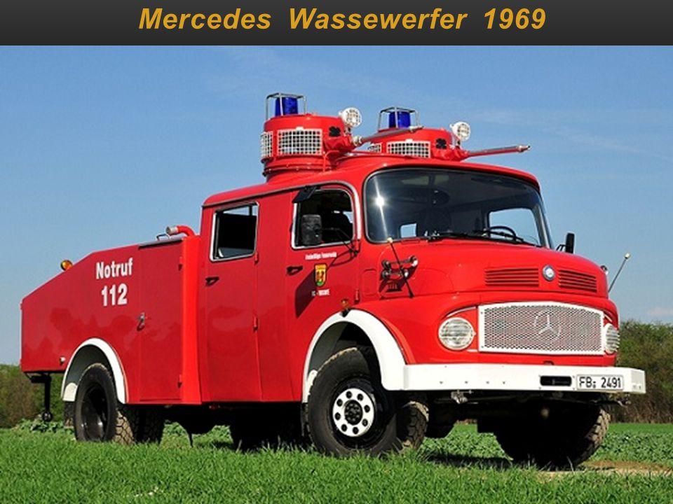 Mercedes Wassewerfer 1969