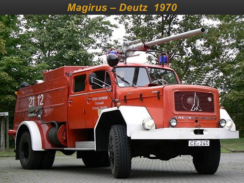 Magirus – Deutz 1970