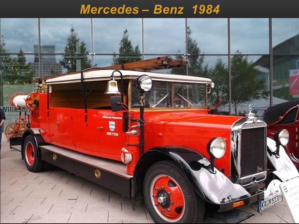 Mercedes – Benz 1984