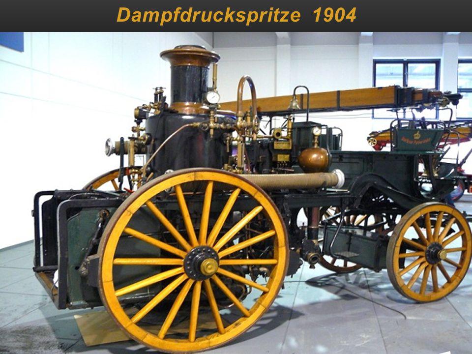 Dampfdruckspritze 1904