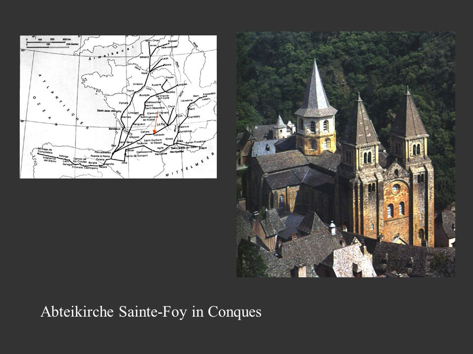 Abteikirche Sainte-Foy in Conques