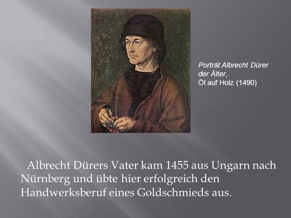 Porträt Albrecht Dürer