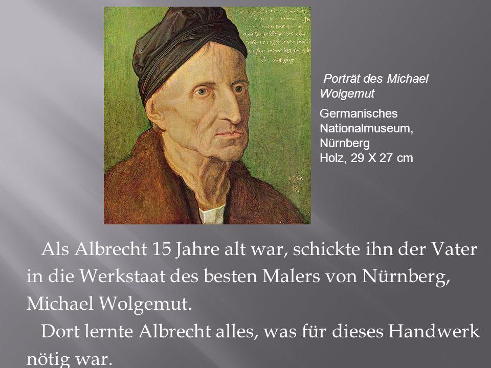 Porträt des Michael Wolgemut