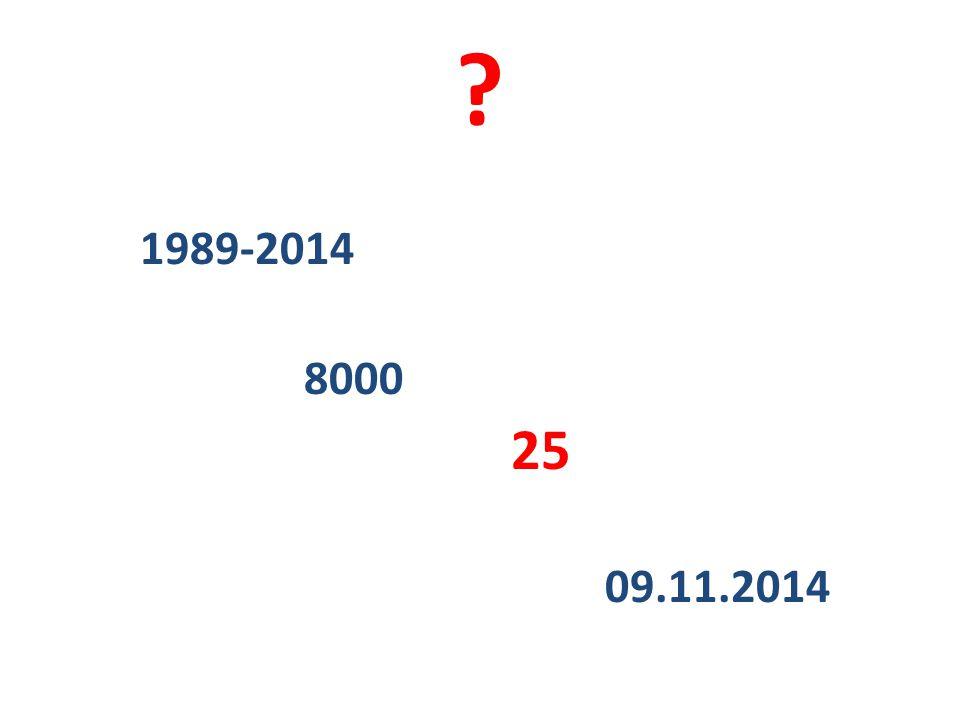 1989-2014 8000 25 09.11.2014