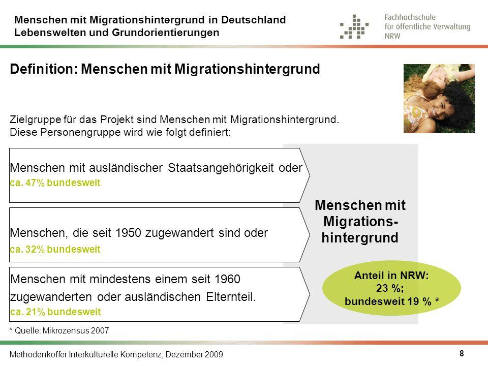 Definition: Menschen mit Migrationshintergrund
