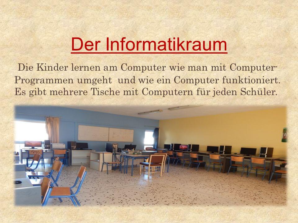 Der Informatikraum