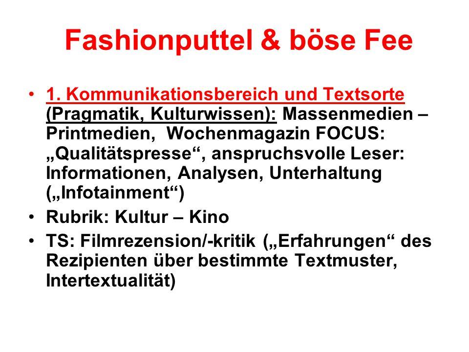 Fashionputtel & böse Fee