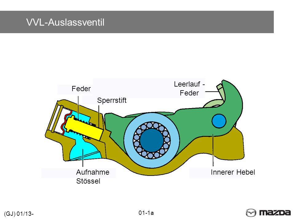 VVL-Auslassventil Leerlauf - Feder Feder Sperrstift Aufnahme Stössel