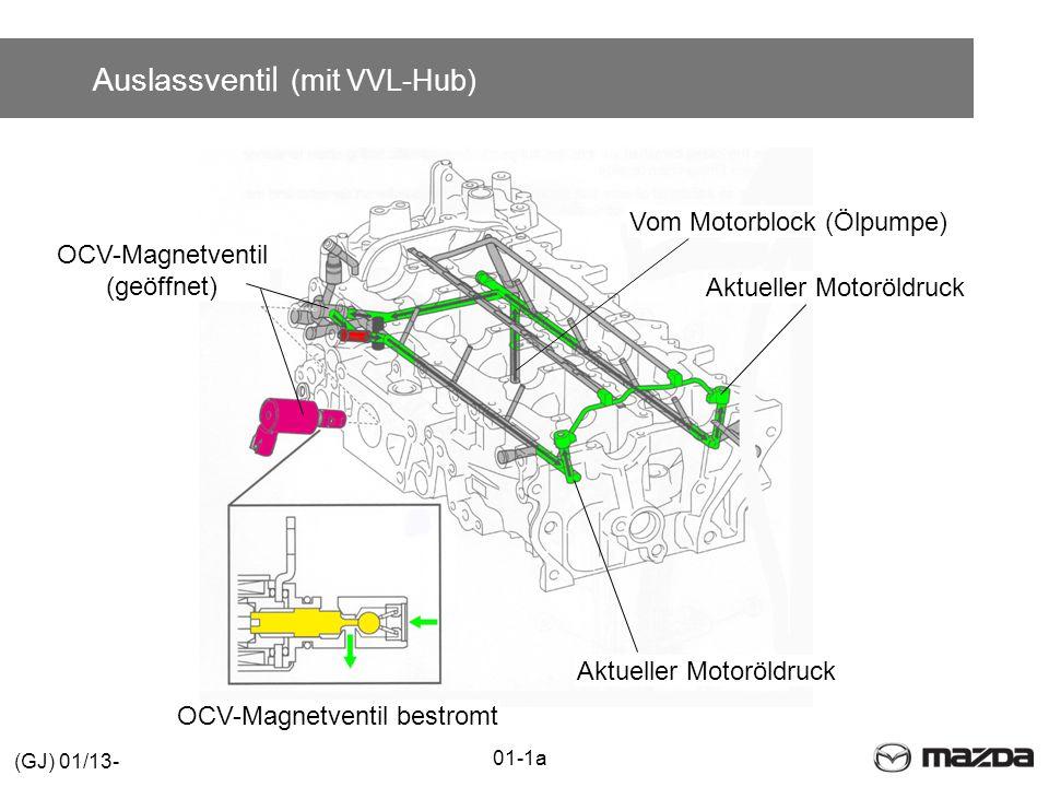 Auslassventil (mit VVL-Hub)