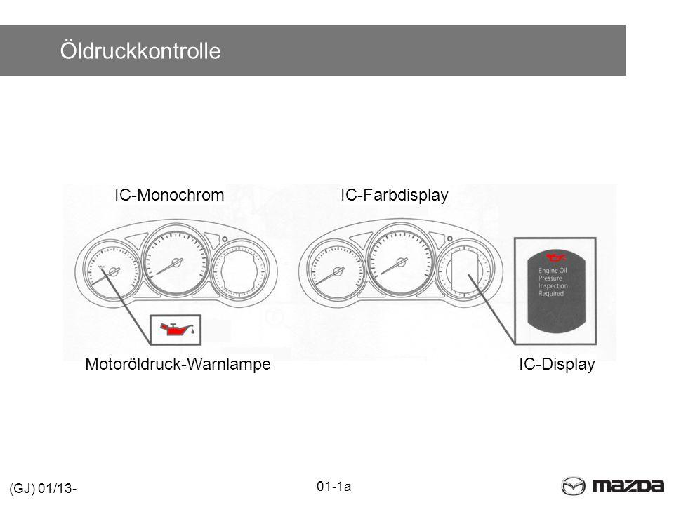Motoröldruck-Warnlampe