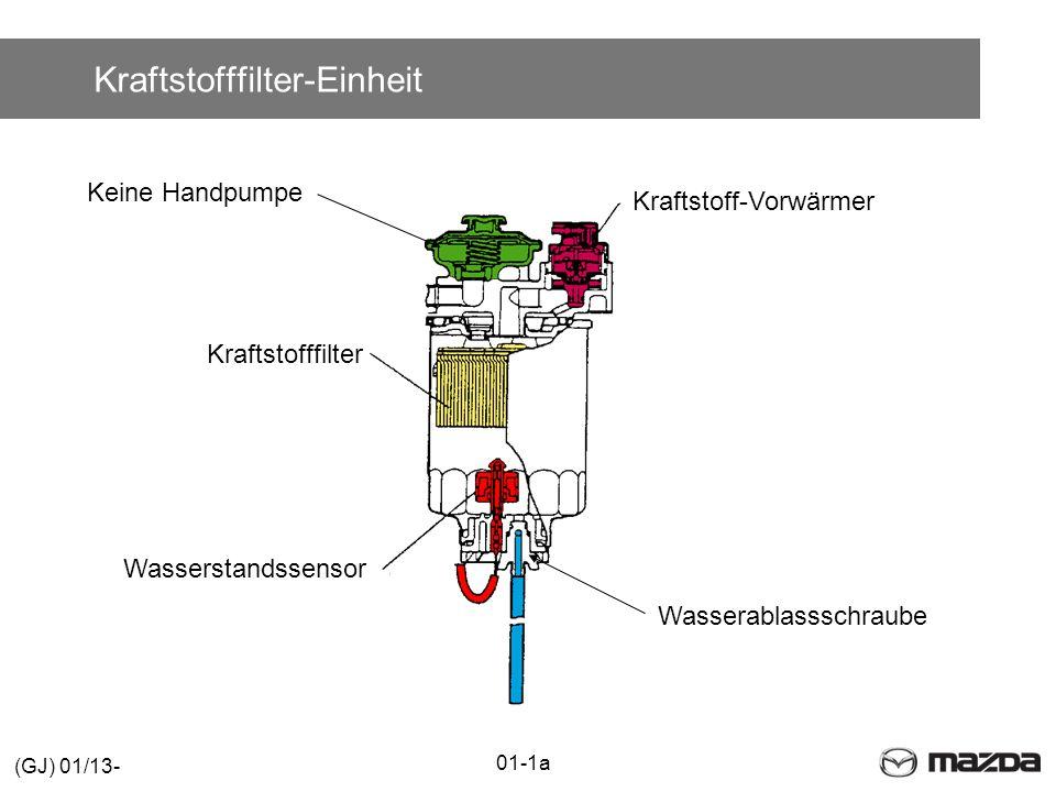 Kraftstofffilter-Einheit