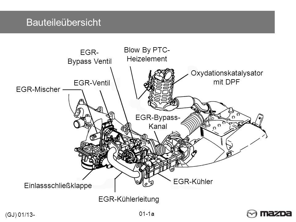 Bauteileübersicht Blow By PTC- EGR- Heizelement Bypass Ventil