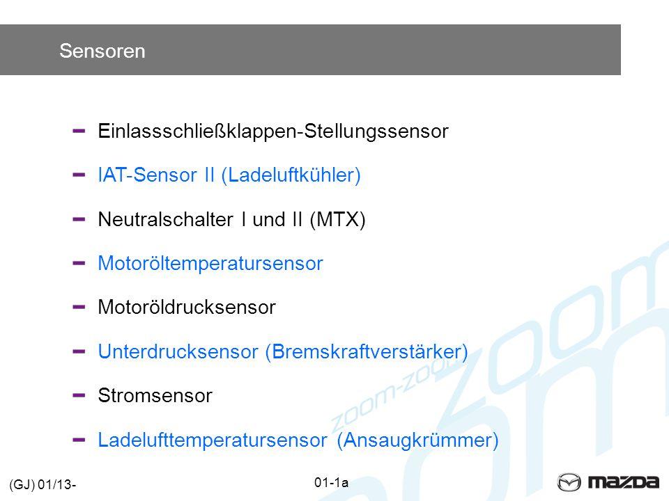 Einlassschließklappen-Stellungssensor IAT-Sensor II (Ladeluftkühler)